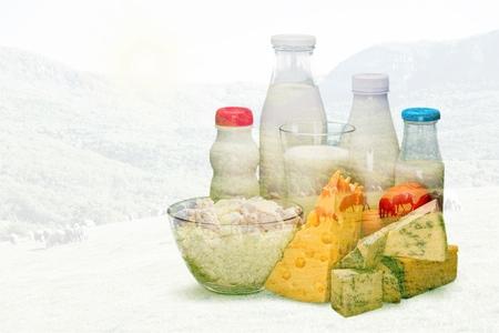pasteurized: Milk. Stock Photo