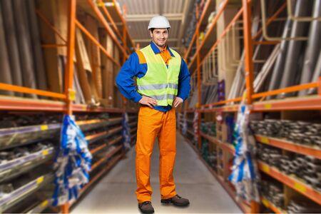 foreman: Foreman. Stock Photo