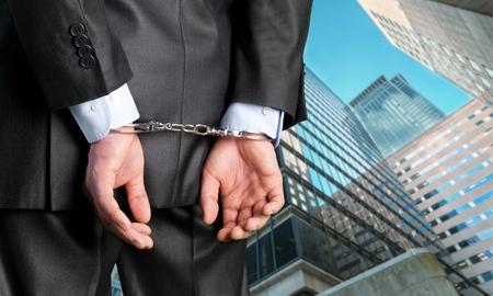 criminal activity: Handcuffs.