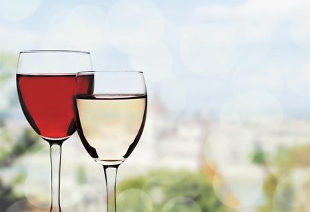 Wineglass. Stock Photo