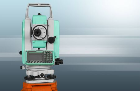tachymeter: Surveyor.