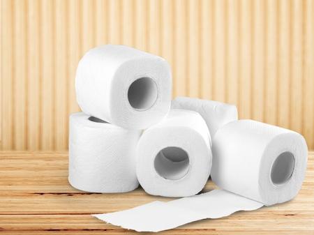Papier toilette. Banque d'images - 55426800