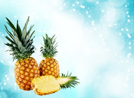 bisected: Pineapple.