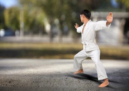 sensei: Karate.