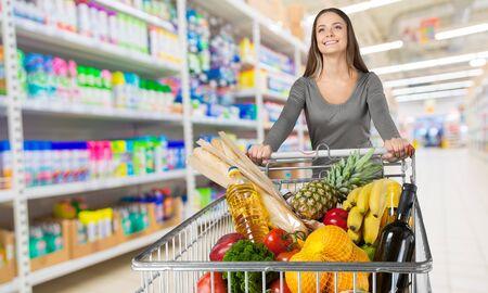 Supermarket. Zdjęcie Seryjne