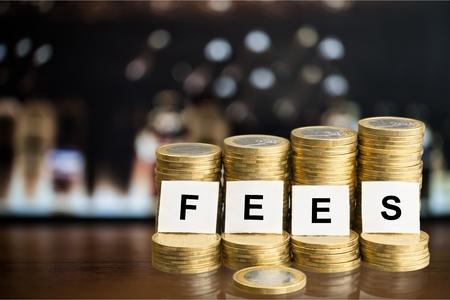 Fees. Фото со стока
