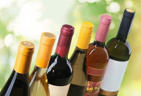 ワインのボトル。 写真素材