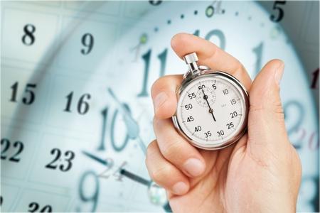 cronógrafo: Time. Foto de archivo