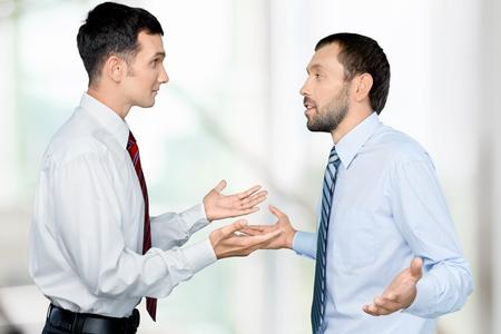 Arguing. photo