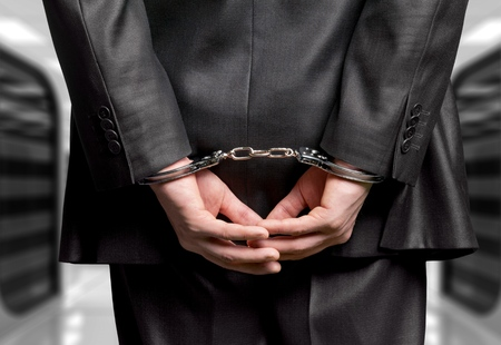 Handcuffs. Stock Photo - 80085910