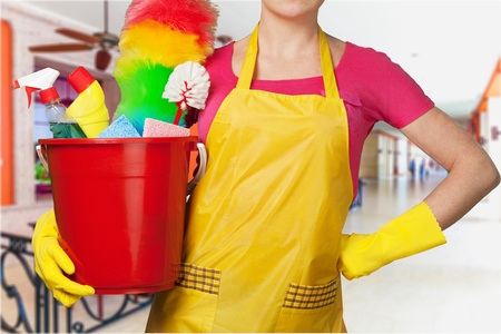 Cleaning. Stock Photo
