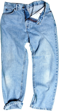 washed out: Jeans.