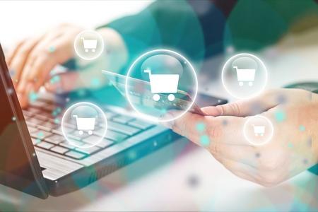 E-commerce. Banco de Imagens