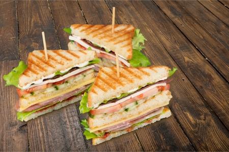 Sandwich. Stock Photo