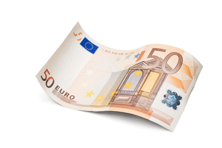 fifty euro banknote: Fifty euro banknote.