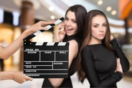 audition: Film. Stock Photo