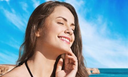 Tanning. Stock Photo
