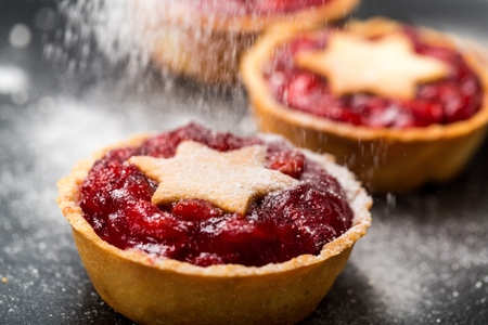 Mince pie. Stock Photo