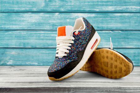 Sports shoe.