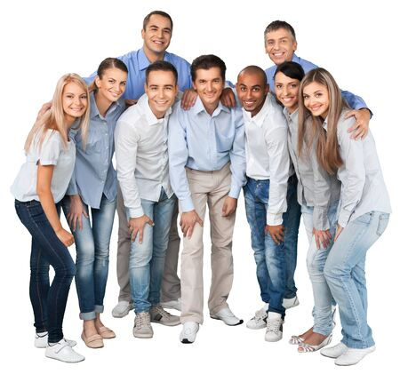 Group of people. photo