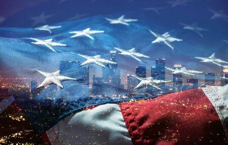 American flag. Stock Photo
