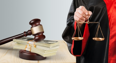 barrister: Law student. Stock Photo