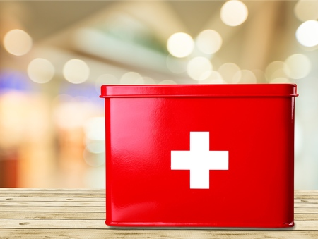 First aid. Stock Photo