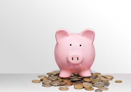 Piggy bank. Stok Fotoğraf - 80931059
