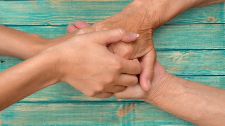 Human hand. Stock Photo