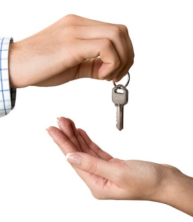 cerrando negocio: Key. Foto de archivo