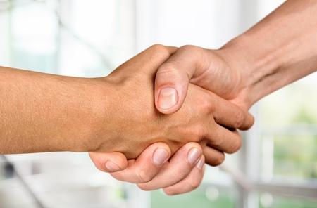 Handshake. Stock Photo