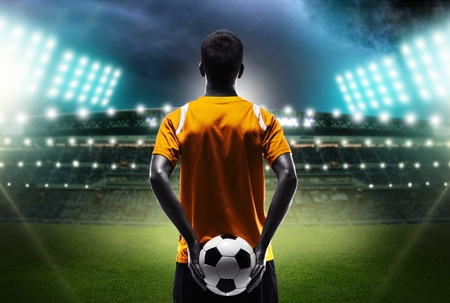 Football man.