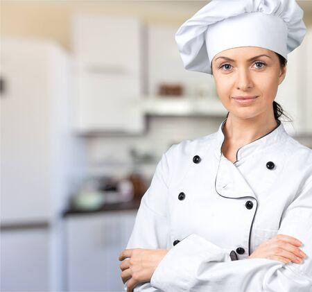Chef-kok. Stockfoto - 81496700