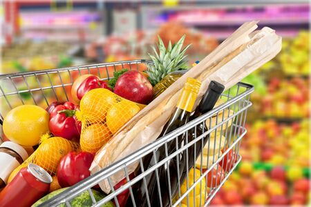 Supermarket. Stock Photo - 81433338