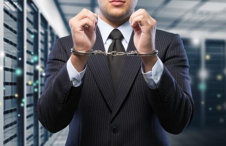 Handcuffs. Stock Photo - 81433859
