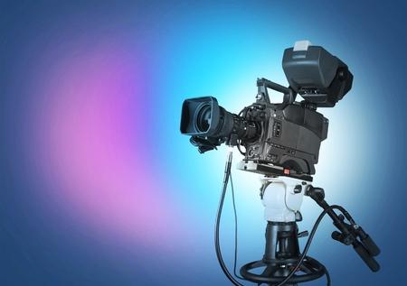 텔레비전 카메라.