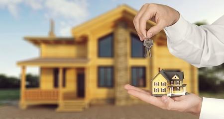 House estate. Stock Photo