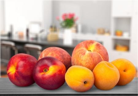 Peach. Stock Photo