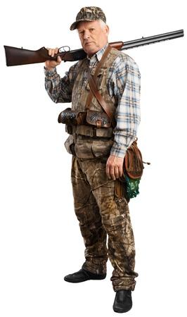 Hunter. Stock Photo