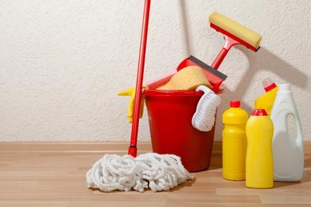 Cleaning. Archivio Fotografico