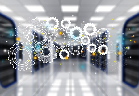System. Stock Photo