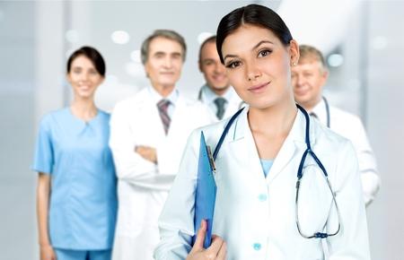 Healthcare and medicine. photo