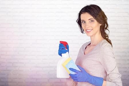 Women cleaner.
