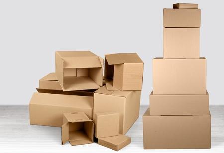 Cardboard. Stock fotó