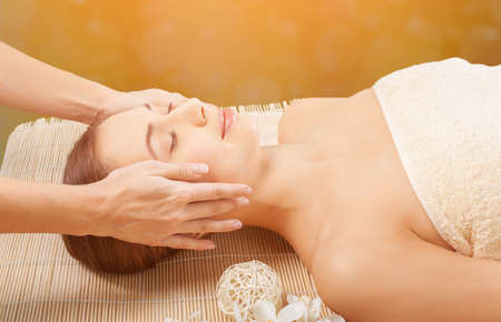 pampering: Pampering. Stock Photo