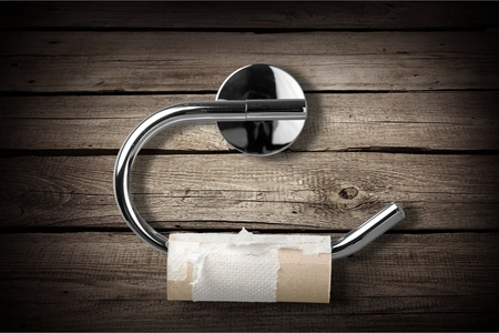 Toilet paper. 版權商用圖片
