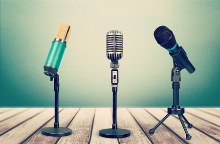 Broadcasting. Stock Photo