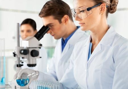 Laboratory. photo