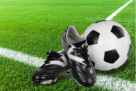 crampon: Soccer. Stock Photo