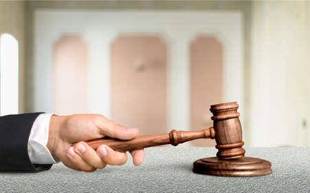 Judge. Stock Photo
